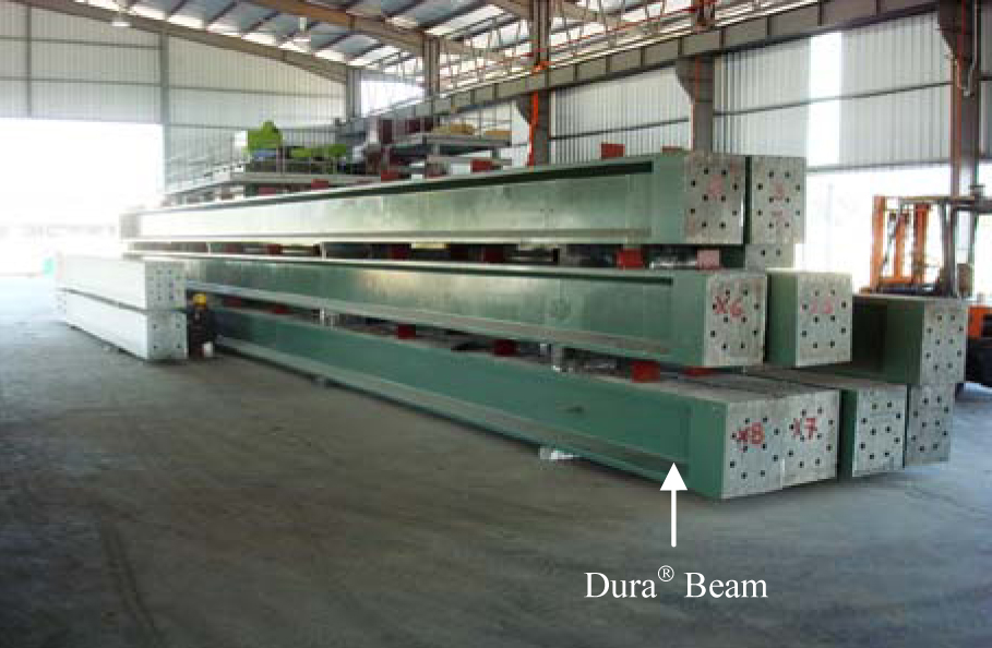 Storage of Precast DURA® UB650 Beams/Columns