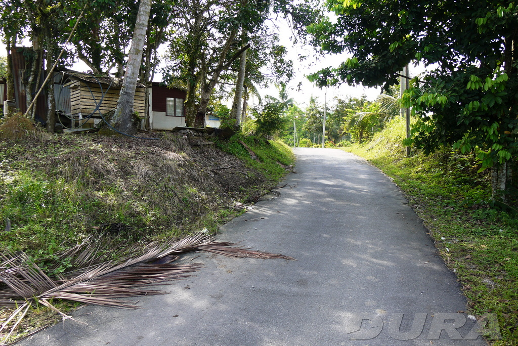 Access road of Kg Baru, Ulu Chemor.