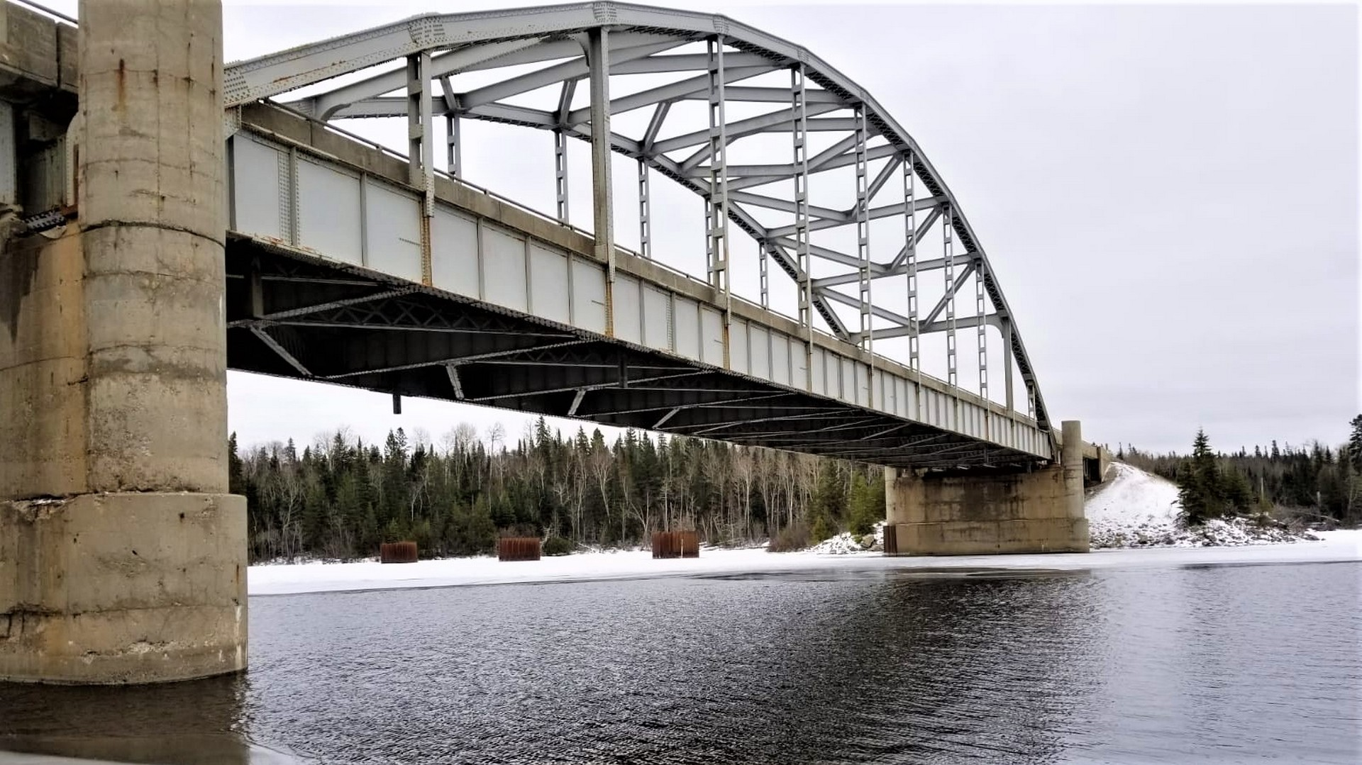 Existing White Lake Bridge.