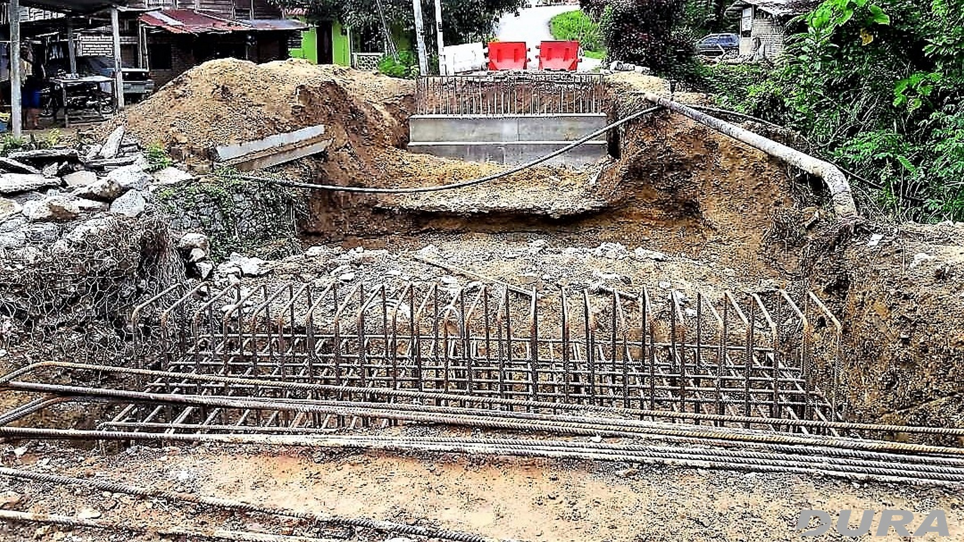 Construction of abutments
