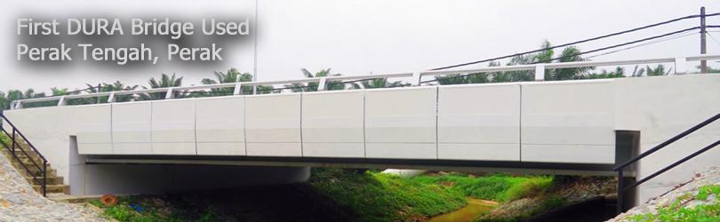 First DURA Bridge Used at Perak Tengah, Perak